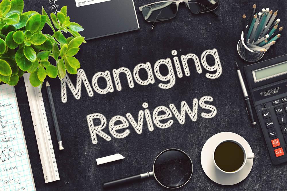 reviews management program